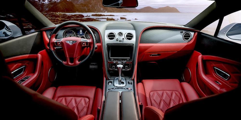 covered vehicle transport prestigious car interior