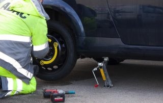 quality towing service, car flat tyre