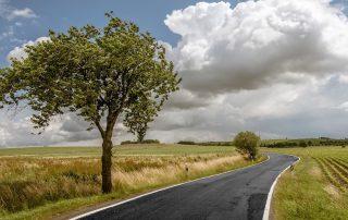 tow truck service, roadtrip, landscape